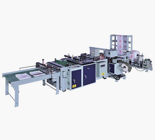 High Speed Patch Handle Bag Making Machine